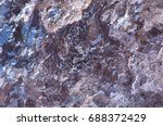 jagged and glittering surface...   Shutterstock . vector #688372429