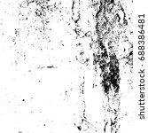 vintage grunge background black ... | Shutterstock . vector #688386481