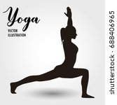 yoga vector illustration | Shutterstock .eps vector #688406965