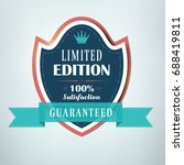 limited edition label  sign.... | Shutterstock .eps vector #688419811