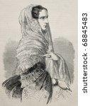 Engraved Portrait Of Alexandra...
