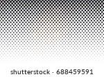 dark brown vector red banner...   Shutterstock .eps vector #688459591