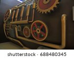 industrial machinery and... | Shutterstock . vector #688480345