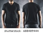shirt design and people concept.... | Shutterstock . vector #688489444