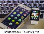 chiangmai  thailand   aug 2...   Shutterstock . vector #688491745