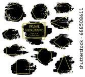 vector square  triangle ... | Shutterstock .eps vector #688508611