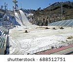 pyeongchang  south korea   24...   Shutterstock . vector #688512751
