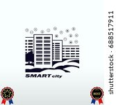 smart sity icon. collection... | Shutterstock .eps vector #688517911