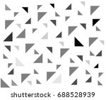 triangle pattern | Shutterstock .eps vector #688528939