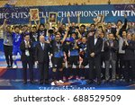 bluewave chonburi team... | Shutterstock . vector #688529509