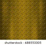 steel plate metal background  | Shutterstock . vector #688553305