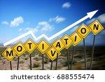 employee motivation or... | Shutterstock . vector #688555474
