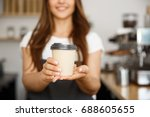 coffee business concept  ... | Shutterstock . vector #688605655