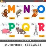 cartoon vector illustration of... | Shutterstock .eps vector #688610185