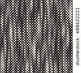 modern stylish halftone texture.... | Shutterstock .eps vector #688622221