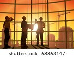 work on the construction at... | Shutterstock . vector #68863147