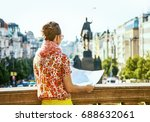 the spirit of old europe in... | Shutterstock . vector #688632061