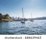 yacht | Shutterstock . vector #688639465