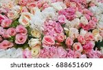 many color of rose artificial... | Shutterstock . vector #688651609