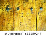 stripped paint in the blue ... | Shutterstock . vector #688659247