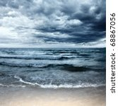 Small photo of Stormy sea