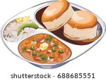 vector illustration of pav... | Shutterstock .eps vector #688685551