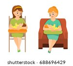 mothers are breastfeeding on a...