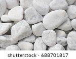Small White Pebbles Rocks...