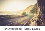 great ocean road sunshine | Shutterstock . vector #688712281