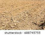 preparation of soil for... | Shutterstock . vector #688745755