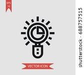 pie chart vector icon ...