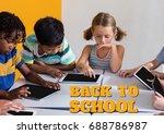 digital composite of education... | Shutterstock . vector #688786987