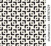 vector seamless pattern. modern ...   Shutterstock .eps vector #688787629
