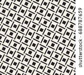 vector seamless pattern. modern ... | Shutterstock .eps vector #688787659