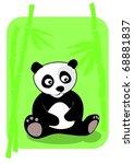 little panda | Shutterstock . vector #68881837