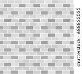 gray brick wall pattern....   Shutterstock .eps vector #688832035
