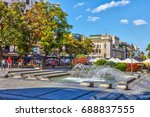 serbia  belgrade   july 26 ... | Shutterstock . vector #688837555