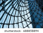 abstract construction | Shutterstock . vector #688858894