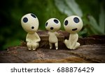 kodama spirit   Shutterstock . vector #688876429