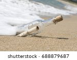 Message In A Bottle  Close Up