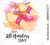 vector illustration of a banner ... | Shutterstock .eps vector #688892077