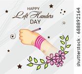 vector illustration of a banner ... | Shutterstock .eps vector #688892164