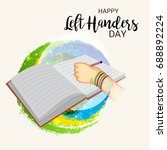 vector illustration of a banner ... | Shutterstock .eps vector #688892224