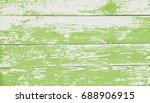 green  wooden texture. vector...   Shutterstock .eps vector #688906915