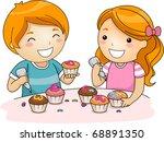 Illustration Of Kids Decoratin...