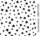 geometric seamless pattern.... | Shutterstock .eps vector #688915981