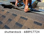 Repairing Of Roof By Cutting...
