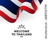 welcome to thailand. thailand... | Shutterstock .eps vector #688933759