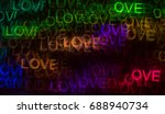 beautiful background with... | Shutterstock . vector #688940734
