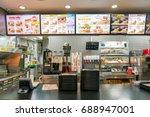 seoul  south korea   circa may  ... | Shutterstock . vector #688947001